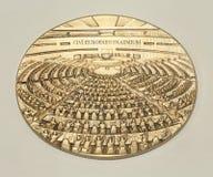 Medal parlament europejski Obraz Royalty Free