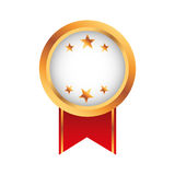 Medal price award icon Royalty Free Stock Images