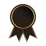 Medal price award icon. Vector illustration design Royalty Free Stock Images