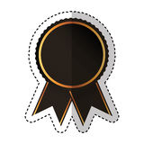 Medal price award icon. Vector illustration design Stock Image