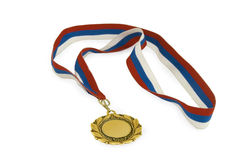Medal with ribbon Stock Photo