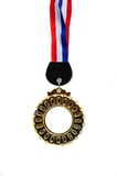 Medal with ribbon Stock Image