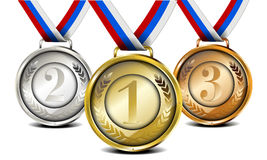 Medal set Royalty Free Stock Photos