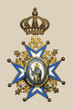 medal stary Obrazy Stock