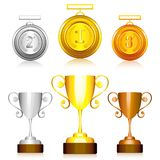 Medal and Trophy Stock Photography
