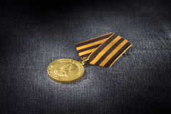 Medal For Victory over Germany. USSR's awards. Medal 'For Victory over Germany in the Great Patriotic War of 1941-1945 stock photography