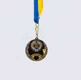 Medal on white background Stock Image