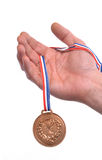 Medal winner. Stock Image