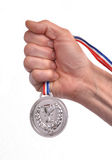 Medal winner. Royalty Free Stock Images