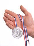 Medal winner. Royalty Free Stock Image