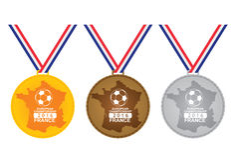 Medal for winner -  European Championship Stock Images