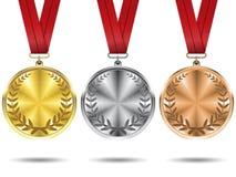 medale odłogowania Fotografia Royalty Free