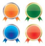 medale ustawiający Fotografia Royalty Free