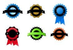 medale ustawiający Obrazy Stock