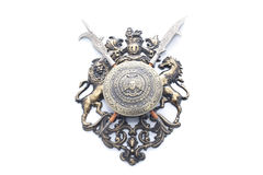Medalhão Imagens de Stock Royalty Free