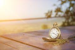 Medalhão do relógio Imagem de Stock Royalty Free