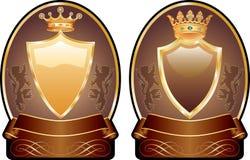 Medalhões de Choco Imagem de Stock Royalty Free