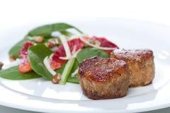 Medalhões do Tenderloin de carne de porco Fotografia de Stock