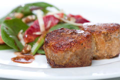 Medalhões do Tenderloin de carne de porco Foto de Stock
