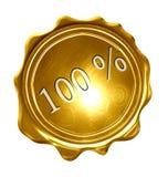 Medalha de ouro Foto de Stock