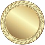 Medalha de ouro Foto de Stock Royalty Free