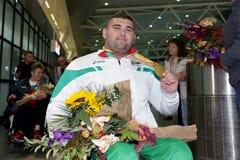 Medalha de ouro de Ruzhdi Ruzhdi Imagem de Stock Royalty Free