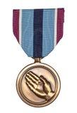 Medalha de serviço humanitária Imagem de Stock Royalty Free