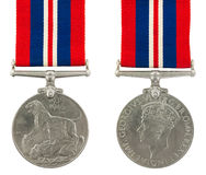 Medalha de serviço geral Fotos de Stock Royalty Free