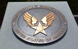 Medalha do monumento da segunda guerra mundial Imagens de Stock