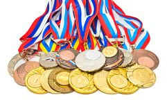 Medalha dos esportes Fotos de Stock