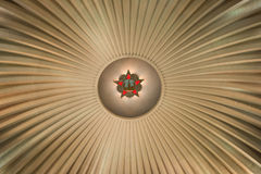 Medalha no teto fotografia de stock royalty free