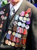 Medalha para uma coragem Fotografia de Stock