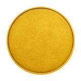 Medalha vazia da cor do jogo da moeda Imagens de Stock