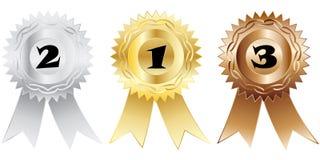 Medalhas Fotografia de Stock