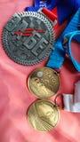medalhas Foto de Stock Royalty Free