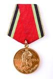 Medalhas do aniversário de uma vitória na guerra Fotos de Stock