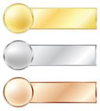 Medalhas do esporte Imagens de Stock