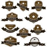 Medalhas e emblemas heráldicos velhos Imagem de Stock Royalty Free