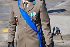 Medalhas oficiais Foto de Stock Royalty Free