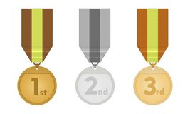 Medaliony Obrazy Royalty Free