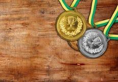 medalj Arkivfoto
