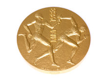 Medalj 1983 friidrottvärld, avers för deltagande för mästerskap för Helsingfors Kouvola Finland 06 09 2016 arkivbilder