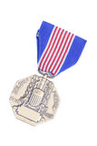 medalj s tjäna som soldat oss valor Arkivbilder