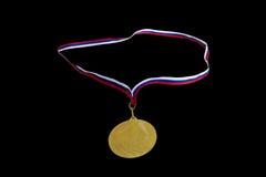 Medaljen för det första stället Royaltyfri Fotografi
