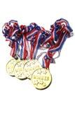 medaljer Arkivbilder