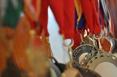 medaljer Fotografering för Bildbyråer