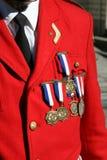 medaljer Royaltyfri Fotografi