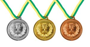 medaljer Royaltyfri Bild