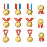 medaljer Royaltyfria Foton