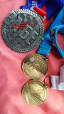 medaljer Royaltyfri Foto
